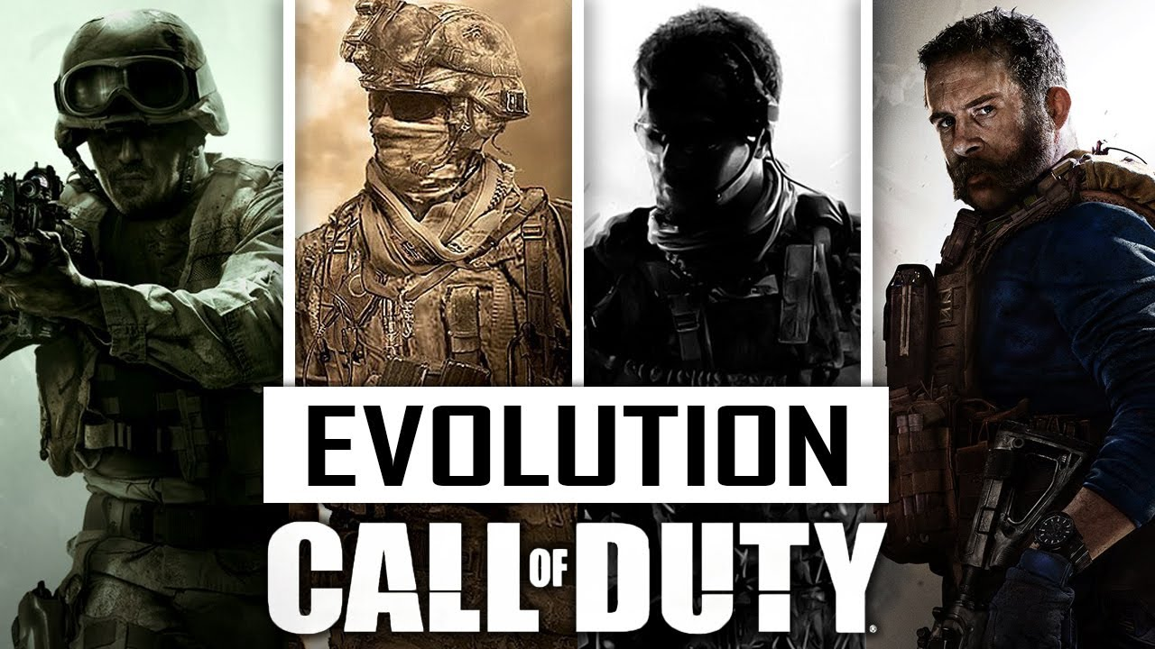 Evolution Of Call Of Duty (2003 - 2020)