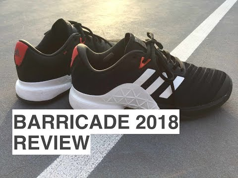 Adidas Barricade 2018 REVIEW/PLAYTEST Mp3