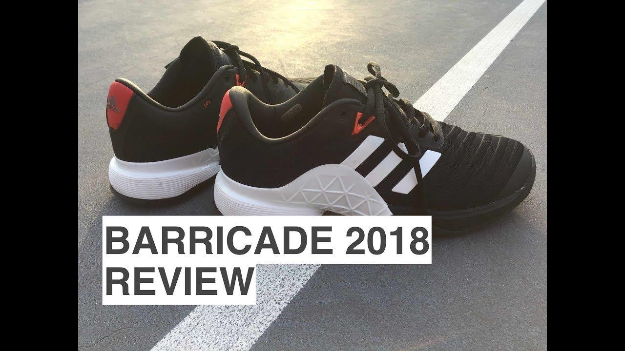 adidas barricata 2018 revisione / playtest su youtube