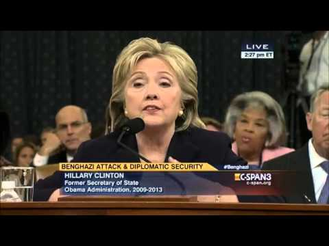 Select Committee on Benghazi Holds Fourth Hearing Part 2