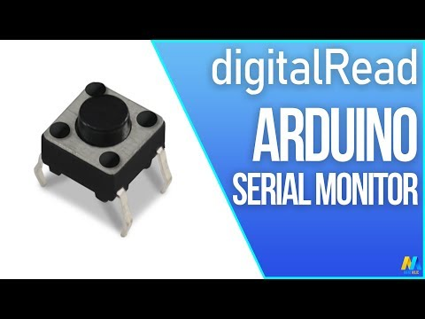 Arduino DigitalRead Serial Monitor With Button