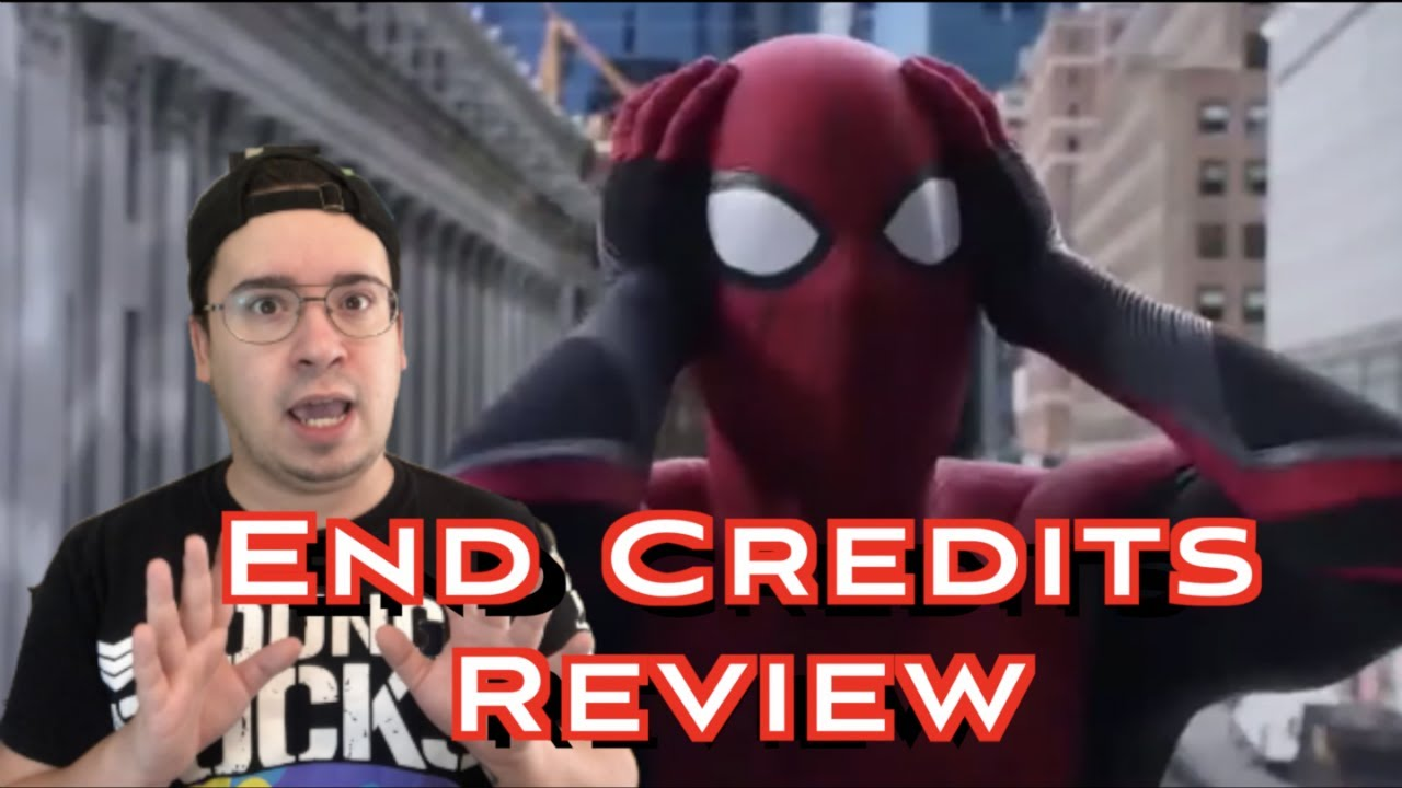 Spider man far from home end credits online