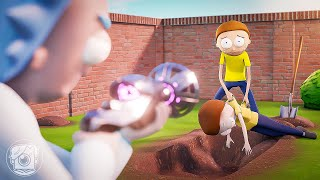 DAY IN THE LIFE OF MORTY! (A Fortnite Short Film)
