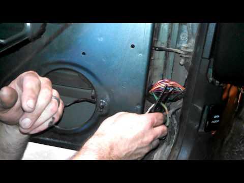 How To Fix Door Speakers On Jeep Cherokee - Fixing Broken Wires In Door Jamb