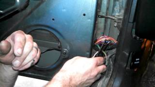 How to fix Door Speakers on Jeep Cherokee - Fixing Broken Wires in Door Jamb