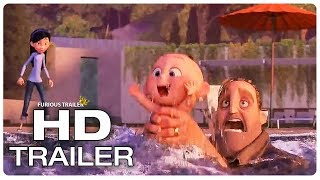 Incredibles 2 Mr Incredible Saves Jack Jack From Drowning Trailer (2018) Superhero Movie Trailer HD
