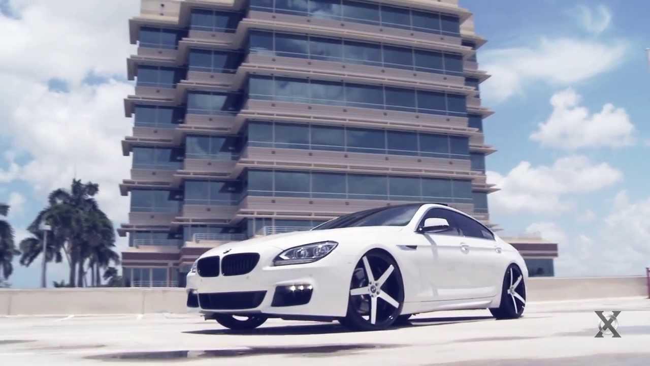 2014 White Bmw 650i On Gloss White Amp Black Xo Luxury Miami