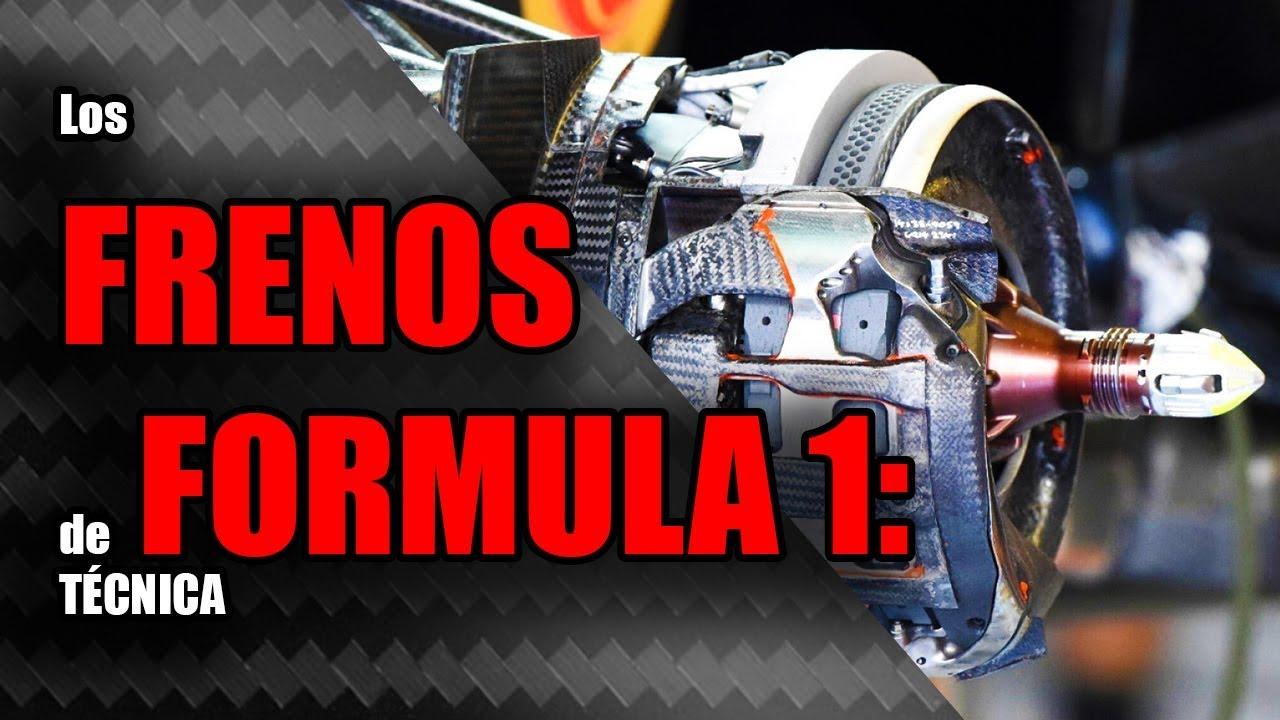 Los FRENOS de FORMULA 1 ???? *¿Cómo funciona el SISTEMA de FRENADO de un F1?* ????| Formula 1 Atmosp