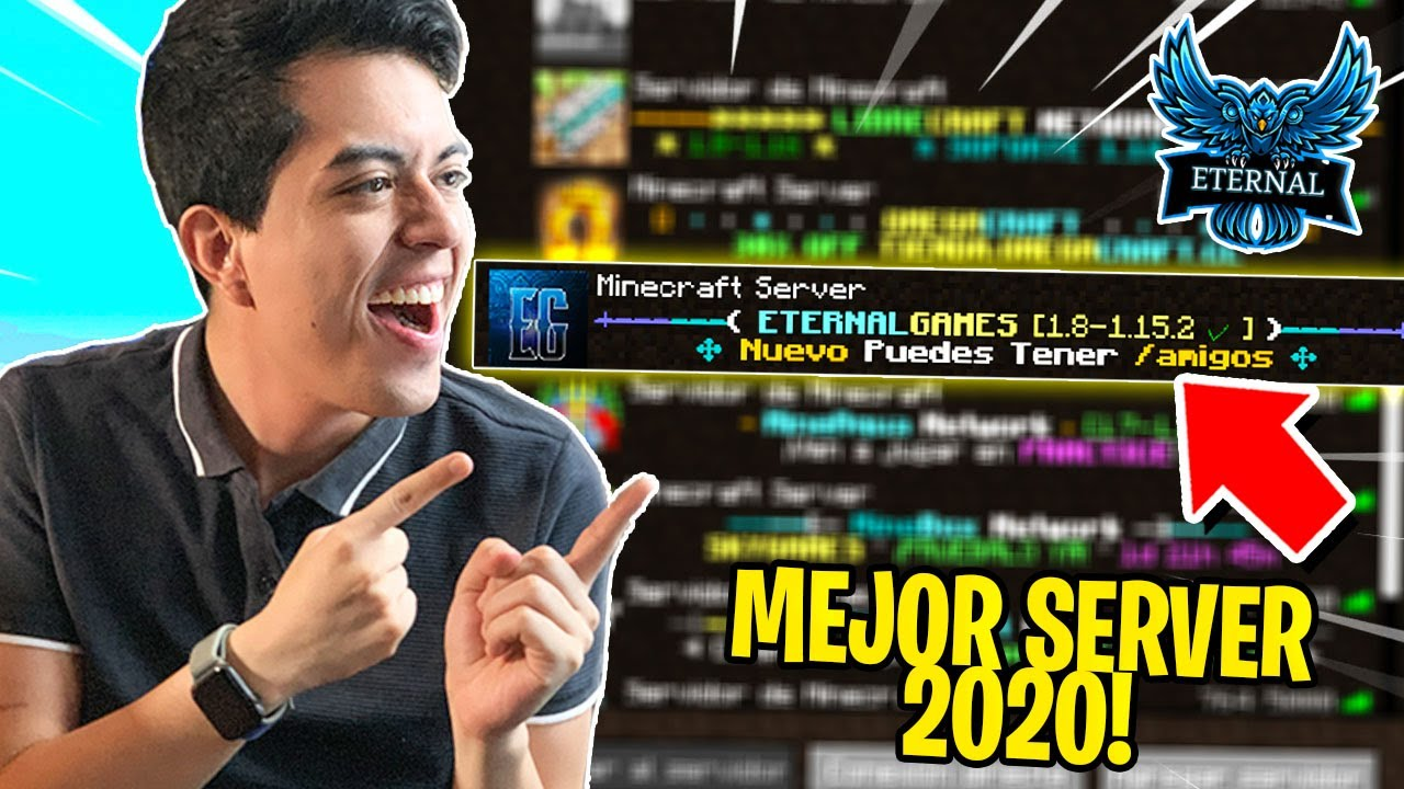 PROBAMOS ETERNAL GAMES, EL MEJOR SERVIDOR NO PREMIUM! 🤩😱   *ASOMBROSO*