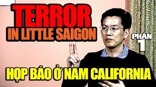 Terror in Little Saigon: Con trai ký giả Đạm Phong họp báo ở Nam California (p1)