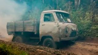 OFF ROAD 4X4 синий дым