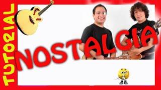 Explicacion NOSTALGIA ANTOLOGIA Guitarra.. solo rasgueo