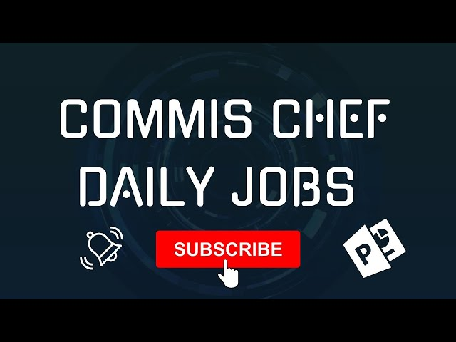 What Is Commis Chef Jobs In A Kitchen Brigade