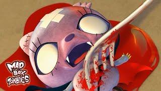 Desenho animado com zumbis: Novo Chifre de Buffa - Mad Box Zombies