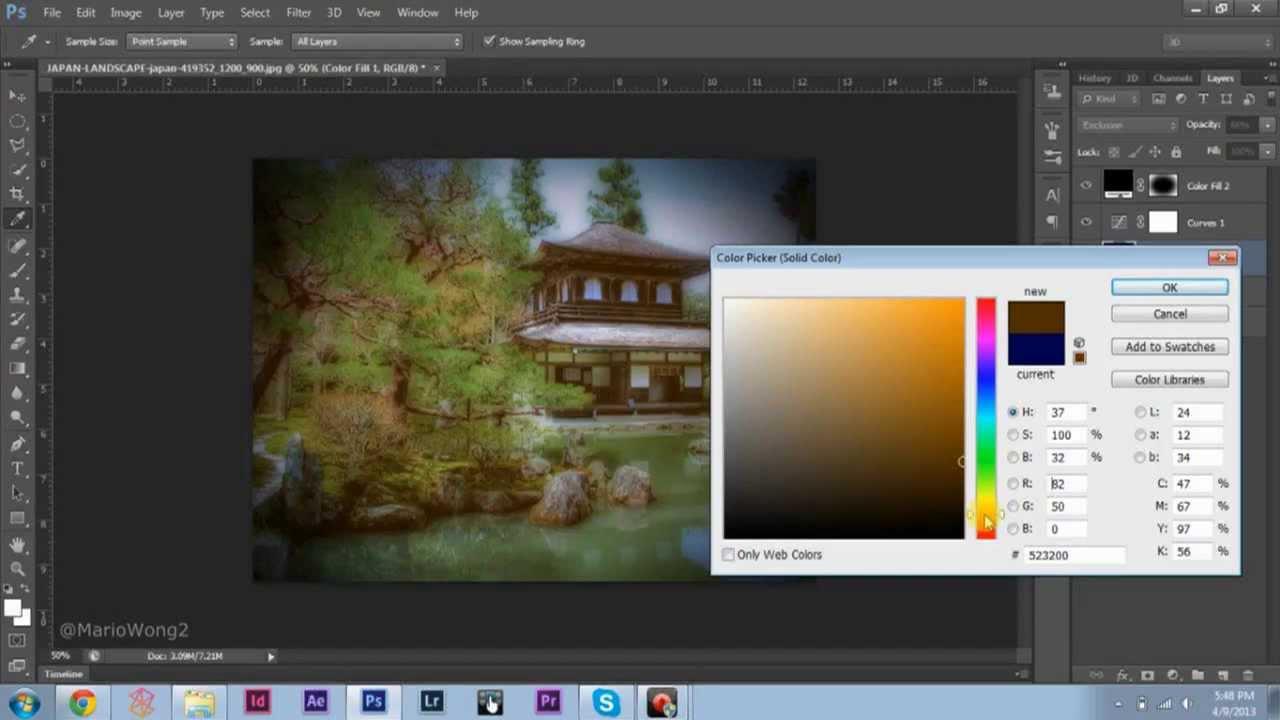 Cómo Crear Filtros de Foto de Instagram en Photoshop