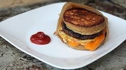Keto Recipe - Low Carb Pancake Sandwich