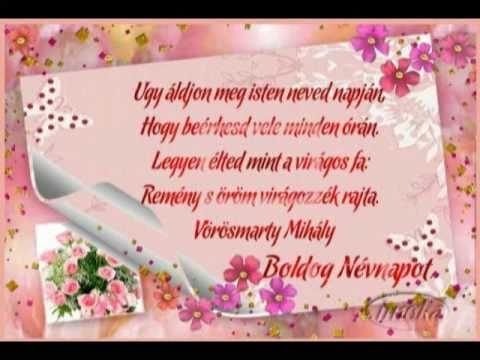 névnapi idézetek képek Névnapi köszöntő csak neked.   YouTube névnapi idézetek képek