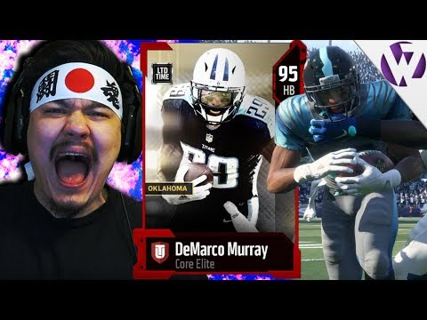 LIMITED TIME DEMARCO MURRAY IS A TANK - Madden 18 LTD Demarco Murray Gameplay
