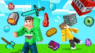 LOOT RAINS From The SKY In MINECRAFT! (Dangerous)
