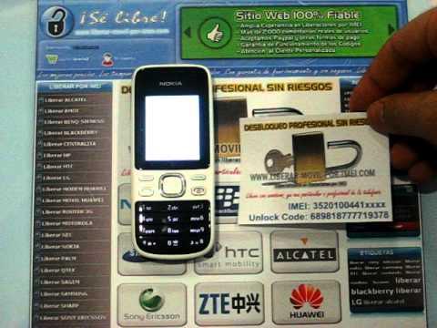Liberar Nokia 2690 por codigo imei, unlock www.liberar-movil-por-imei.com