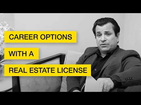Ep. 18: Different Career Options With A Real Estate License