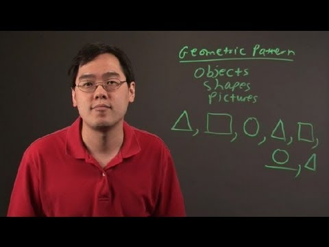 What Is a Geometric Pattern in Math? : Math Definitions & More