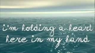 Girl Named Toby - Holding A Heart (with lyrics on screen)