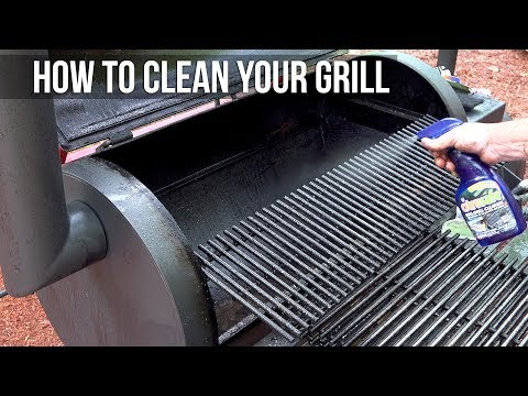 How to clean your bbq grill We had to do it. -BBQ Pit Boys