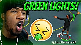 GOING CRAZY FROM DEEP WITH MY NEW AND IMPROVED GREEN RELEASE JUMPSHOT!! - NBA 2K19