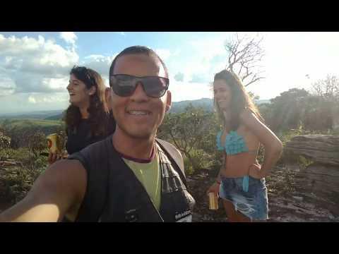 Explorando Luminárias de Moto - Cachoeira do Mandembe, Pedra Furada e a Serra Grande