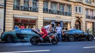 CRAZY Supercars vs Superbike SOUNDS!