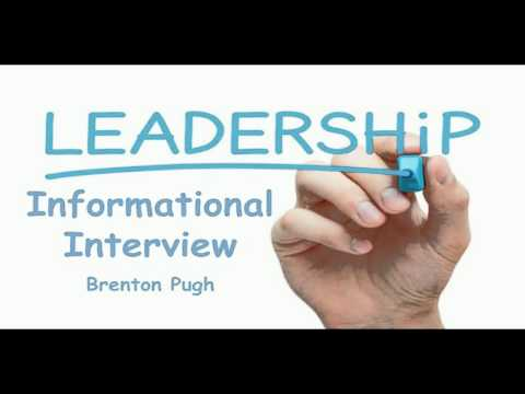 Leadership Informational Interview Reflection