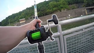 Fishing for Catfish at the Raccoon Mountain Pump Station
