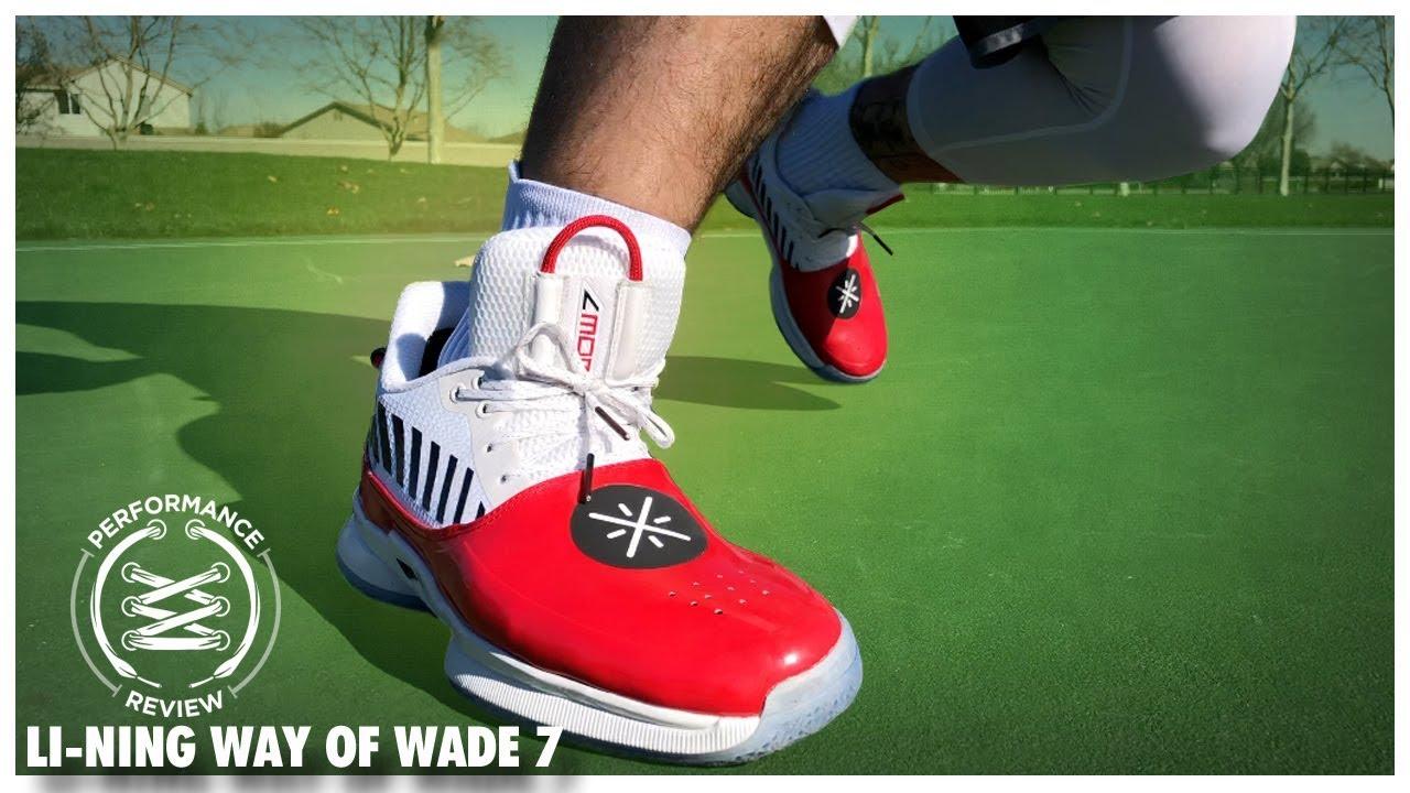 8191f7c32ef0f1 Li Ning Way of Wade 7 Performance Review - YouTube