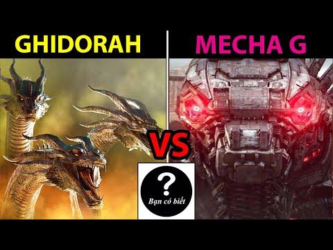 MechaGodzilla vs King Ghidorah, con nào sẽ thắng #85 |Bạn Có Biết?