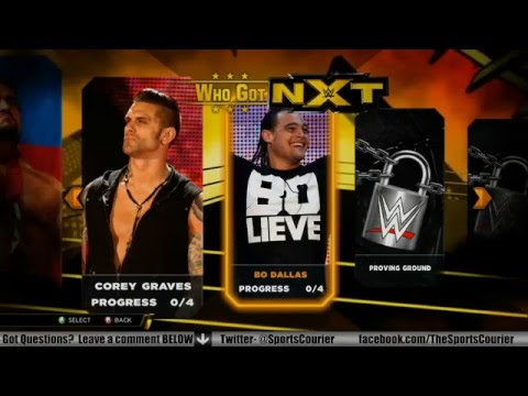 WWE 2K15: Who Got NXT Mode