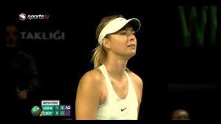 TEB TENNIS STARS | Çağla Büyükakçay - Maria Sharapova Video