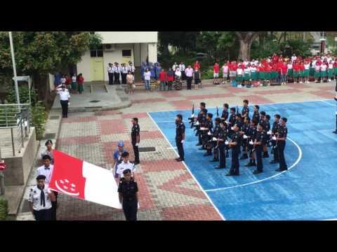 2016 Chua Chu Kang Secondary School National Day Muster Parade