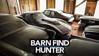 Part 2: Greatest barn find collection known to man | Barn Find Hunter - Ep. 94