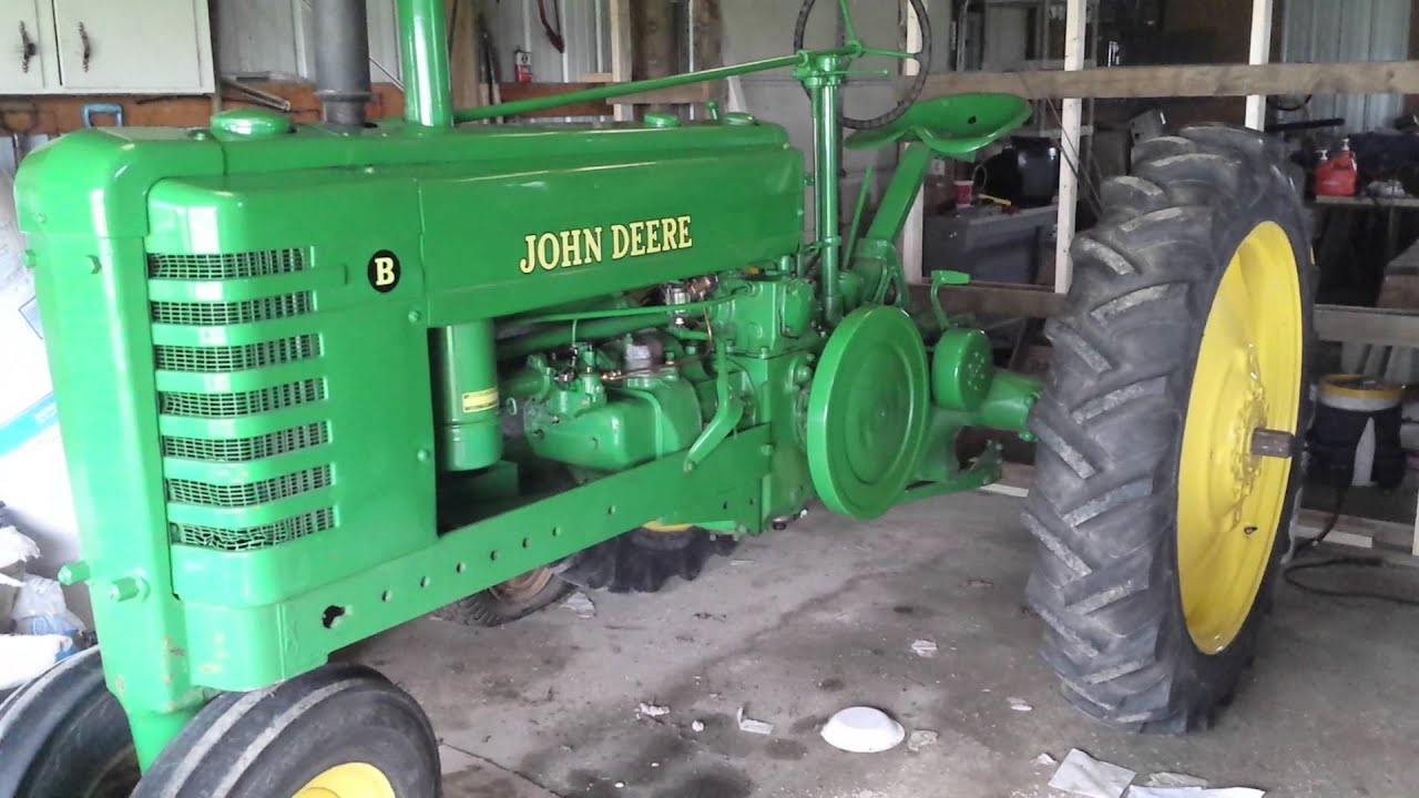 maxresdefault 1944 john deere b low idle youtube John Deere Alternator Wiring Diagram at creativeand.co