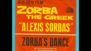 Zorba The Greek Alexis Sorbas Zorba's Dance Sirtaki
