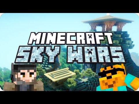 Minecraft - Sky Wars ¡NINJA STYLE! - YouTube