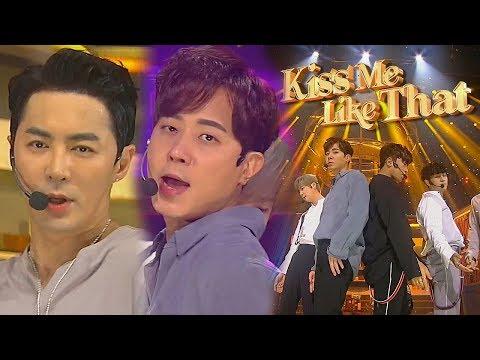 《Comeback Special》 SHINHWA(신화) - Kiss Me Like That @인기가요 Inkigayo 20180902