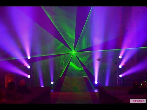 Hechingen Im Lichterglanz 2019 - Multimedia Installation In Der Stiftskirche