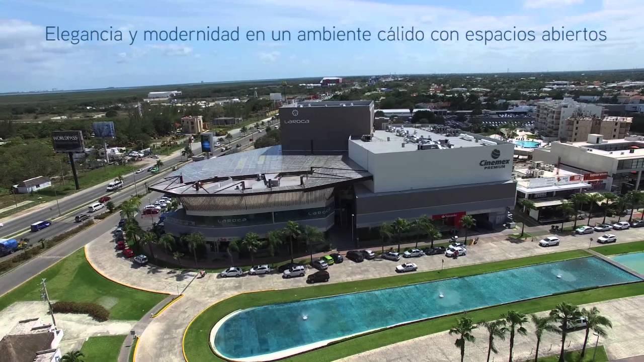 Plaza la roca canc n youtube for Centro la roca