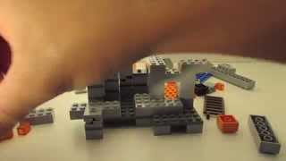LEGO MINECRAFT - Set 21113 THE CAVE - Unboxing, Time-Lapse Build , Review