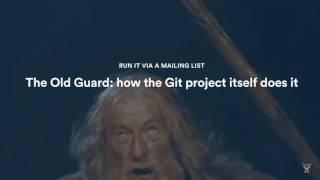 Popular Git Workflows You Haven\'t Heard About - Atlassian Summit 2016