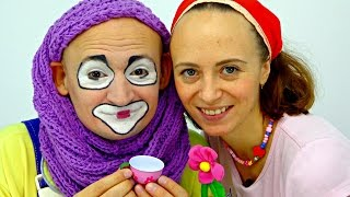 Funny clown videos for kids. Andrew the clown is going on a date!