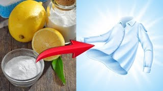 6 Natural Ways to Remove Odors and Stains from Clothes
