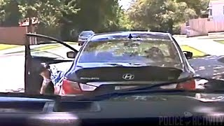 Police Dashcam Shows Oklahoma Officer Chasing Reckless Driver
